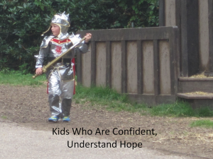 Kids who are confident