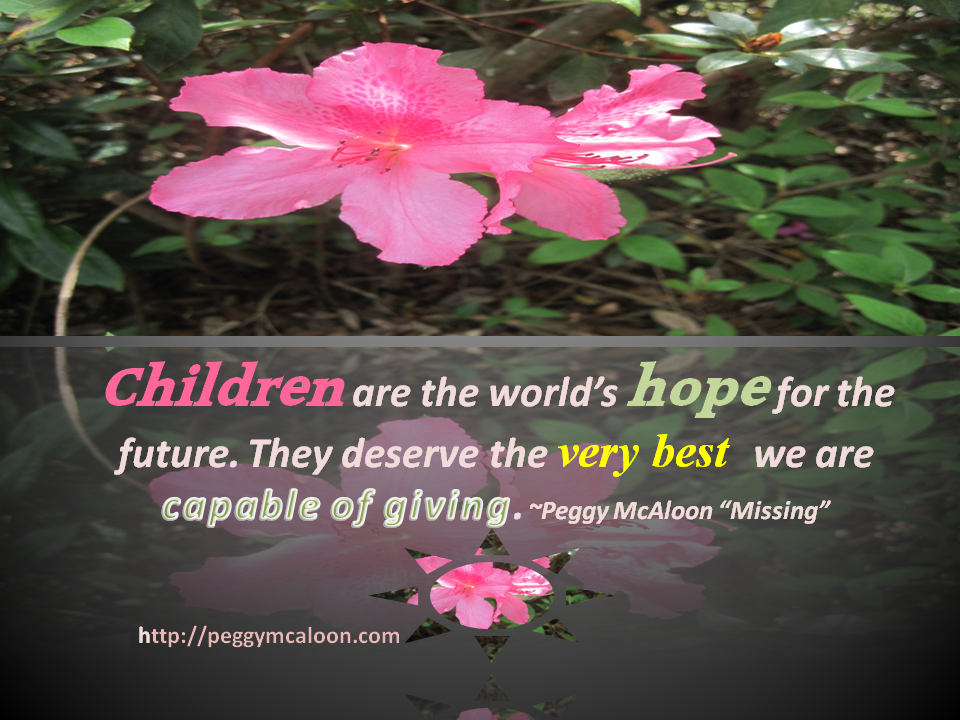 Missing Quote Children are the world's hope