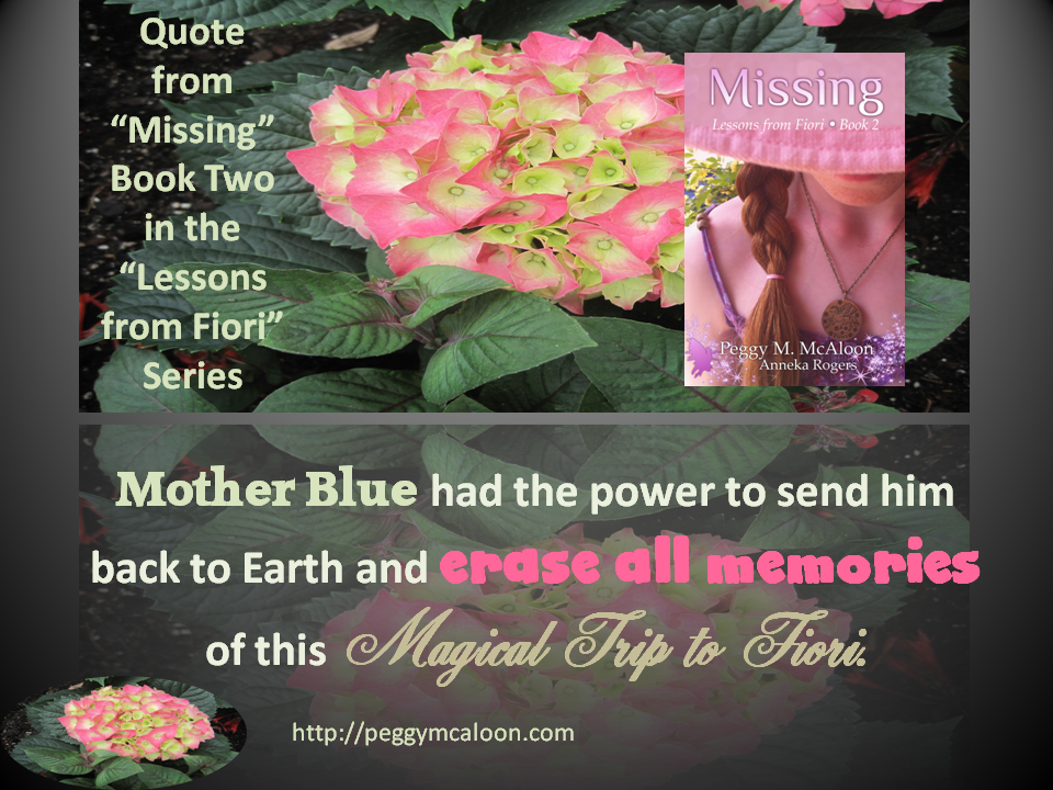 Missing Quotes Mother Blue had the power