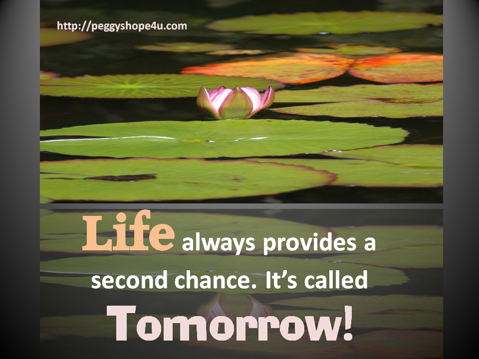 Life always provides a second chance