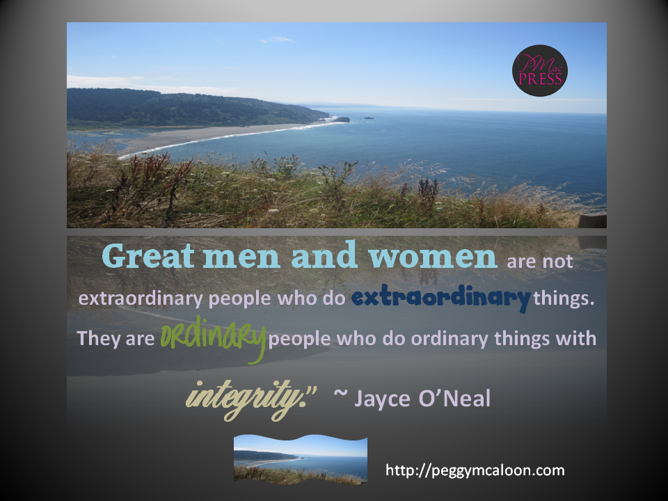 integrity great men and women