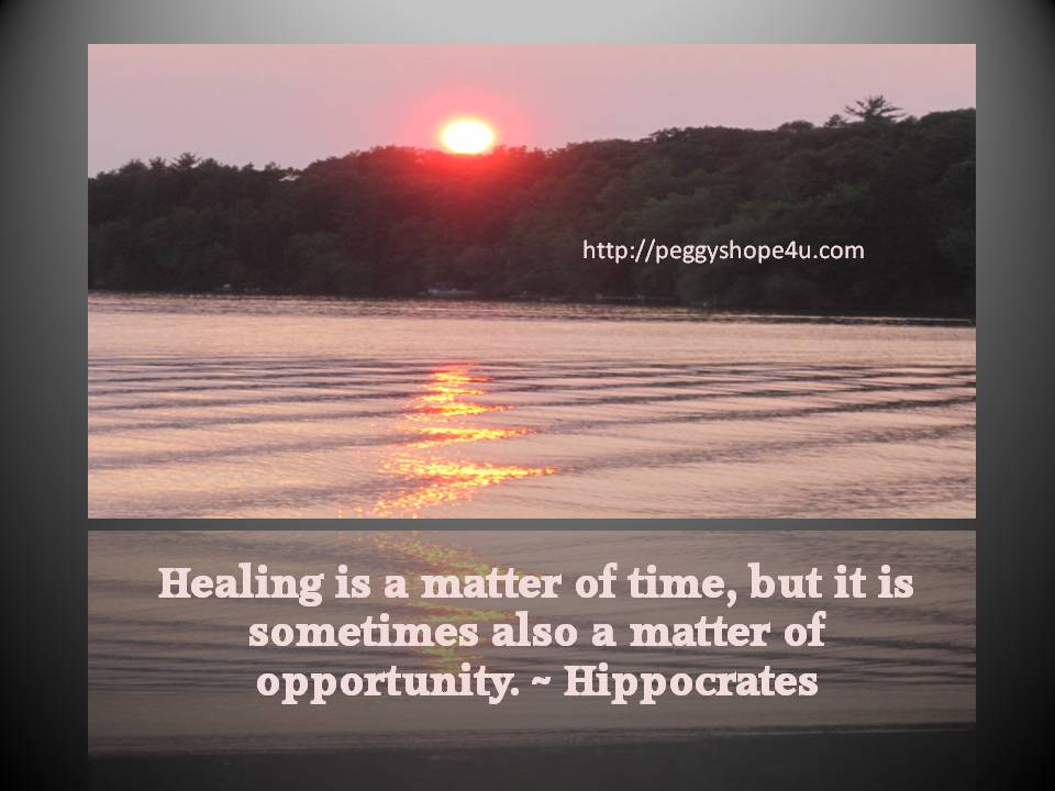 Healing opportunity
