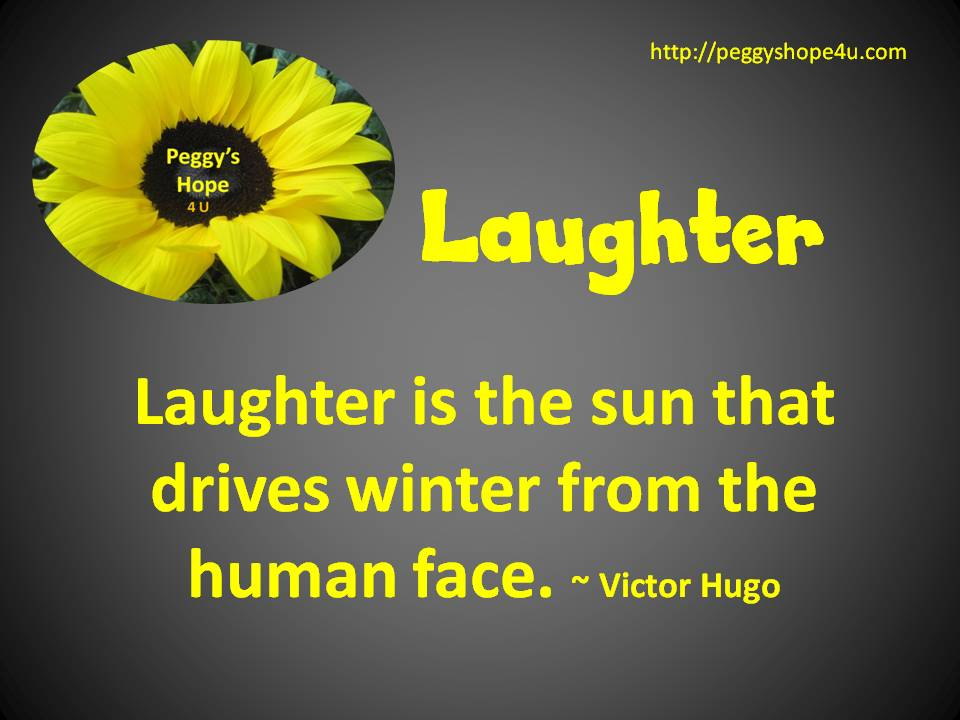 Laughter drives winter
