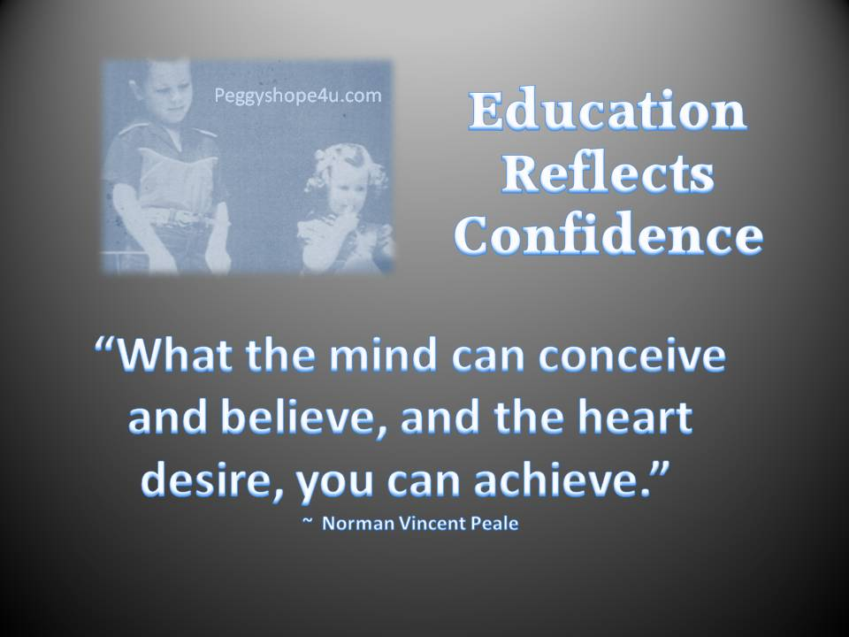 Confident Students Succeed