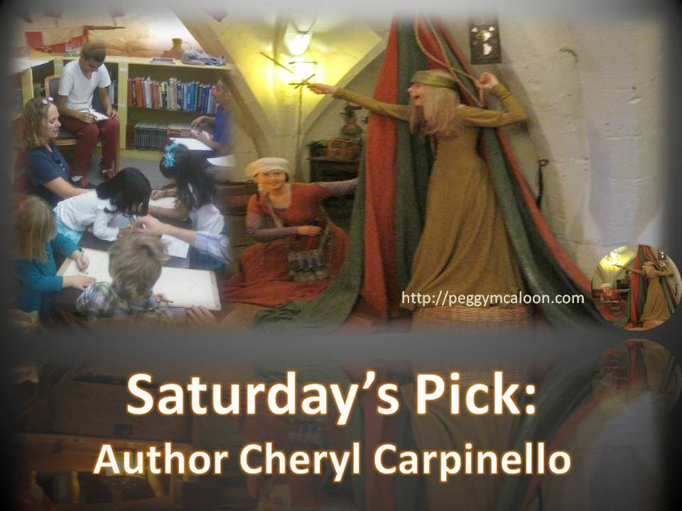 If you need something to inspire your middle-grade student to read, pick up some books by Cheryl Carpinello