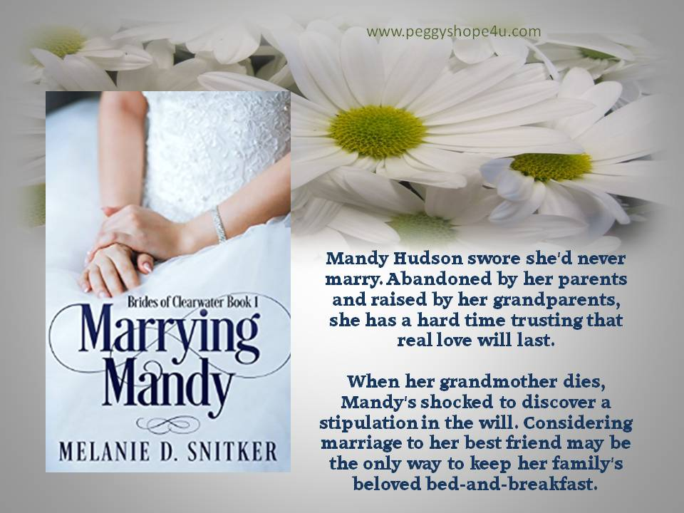 Marrying Mandy is a clean read you will find hard to put down.