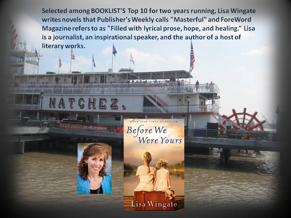 """Before We Were Yours"" - Award Winning novel by Lisa Wingate"