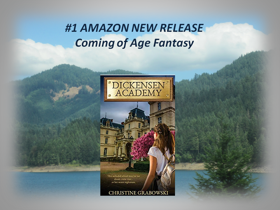 Dickensen Academy is an entertaining fantasy for ages 15+