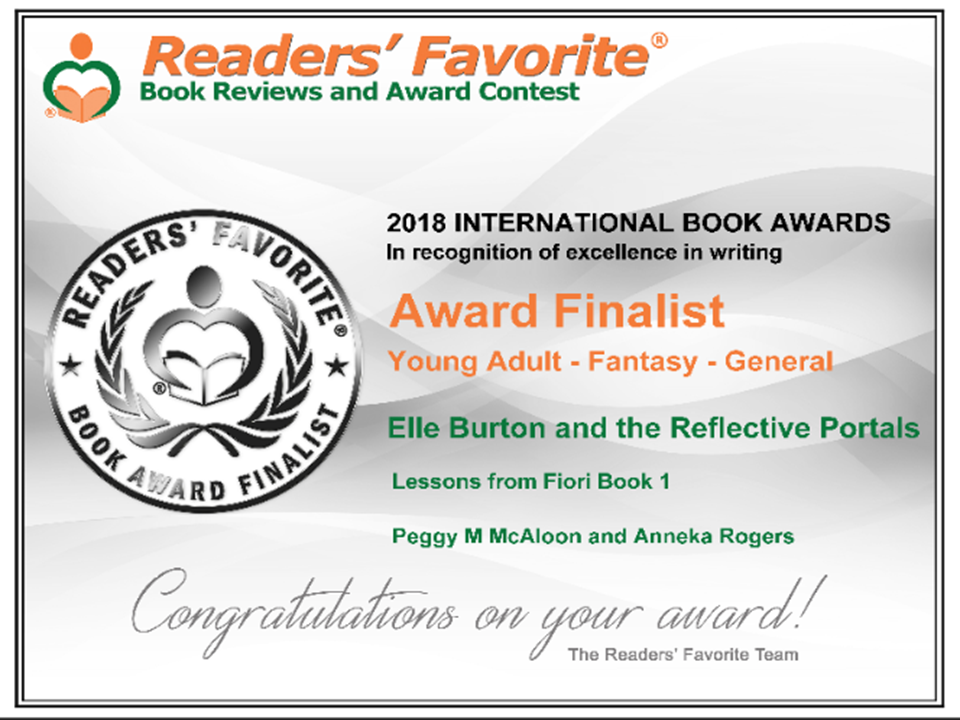 2018 Readers' Favorite International Book Awards Finalist