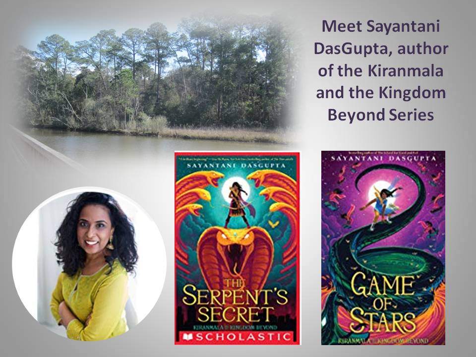 The Serpent's Secret and Game of Stars are the first two books in this series.