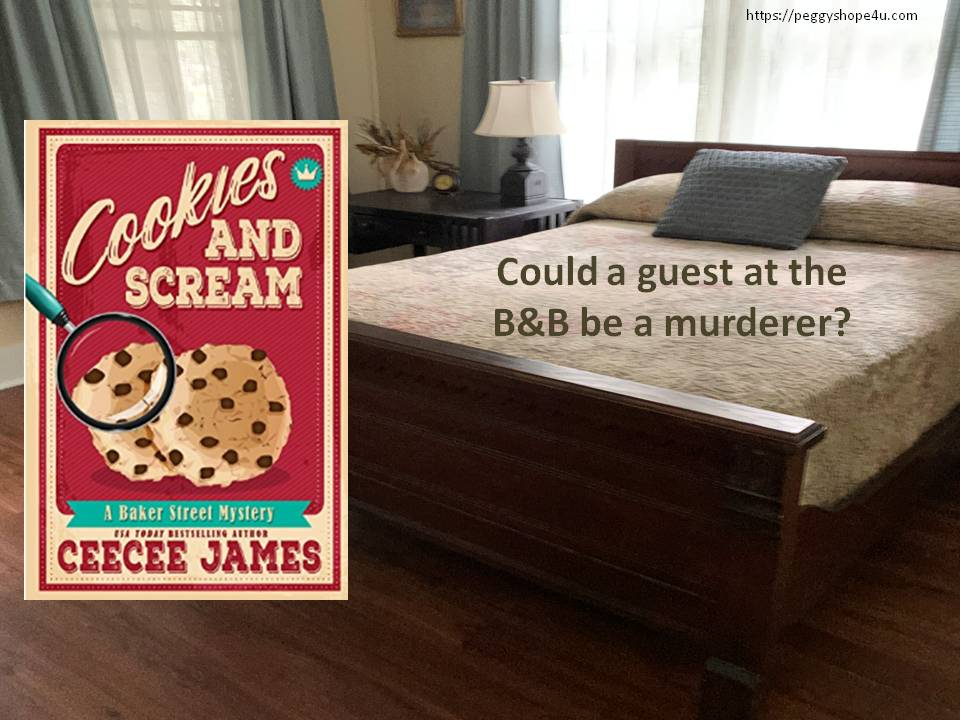 "Georgie Tanner has more than cookie recipes to figure out in ""Cookies and Scream."""