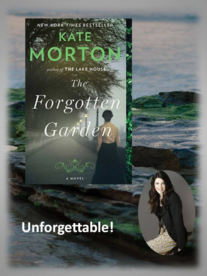 The Forgotten Garden takes you from Australia to the British Isles
