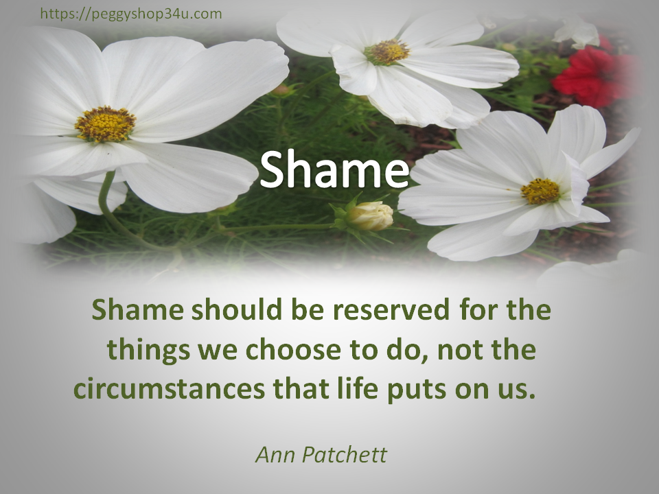 Why do we feel shame as a victim?