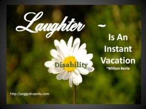 Being able to laugh during life's darkest moments brings healing to the soul.