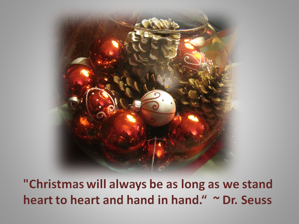 Christmas Gratitude Lives In Our Hearts